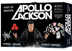 APOLLO JACKSON HYPER VISUAL STREET 100 MAGIC TRICK SET