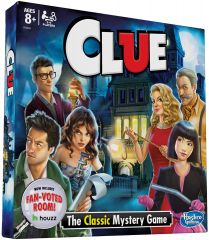 CLUEDO WITH FAN-VOTED ROOM