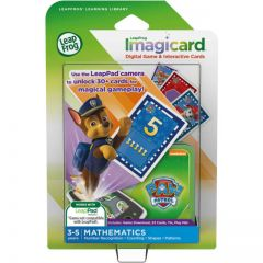 LEAP FROG LIBRARY IMAGICARDS PAW PATROL