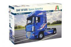 ITALERI 1:24 DAF XF105 SPACE AMERICA TRUCK MODEL KIT