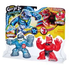 HEROES OF GOO JIT ZU DINO X-RAY S4 VERSUS PACK FOSSIL FACEOFF