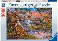 RAVENSBURGER 3000 PIECE JIGSAW PUZZLE ANIMAL KINGDOM