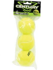 CENTURY 3 PACK TENNIS BALLS