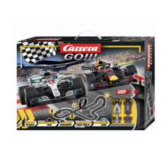 CARRERA GO!! MAX SPEED FOMULA 1 - 6.3 METRE SLOT CAR SET