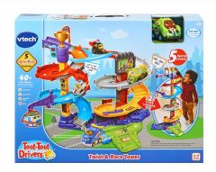 VTECH TOOT TOOT DRIVERS TWIST & RACE TOWER