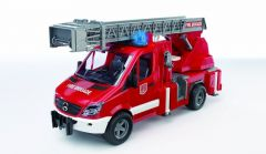 BRUDER 1:16 SPRINTER FIRE ENGINE WITH SLEWING LADDER AND WATER PUMP