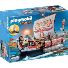 PLAYMOBIL HISTORY - ROMAN WARRIORS' SHIP