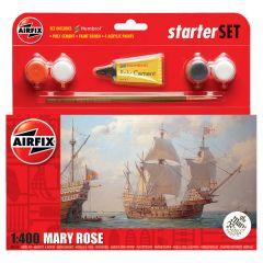 AIRFIX 1:400 MARY ROSE STARTER SET