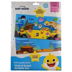 BABY SHARK STICK A SCENE ACTIVITY SET