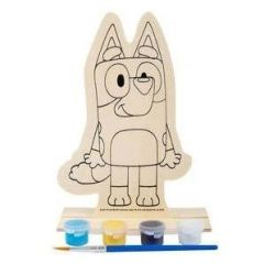 BLUEY WOODEN CUTOUT WITH PAINT