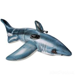 INTEX GREAT WHITE SHARK RIDE ON