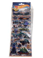 HOT WHEELS 3 PACK STICKERS