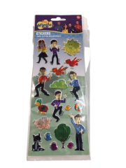 THE WIGGLES 3 PACK STICKERS