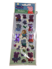 PEPPA PIG PUFFY STICKERS, 3 PACK