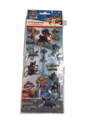 PAW PATROL 3 PACK BUBBLE STICKERS