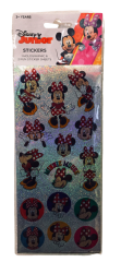 MINNIE MOUSE STICKERS 3 PACK