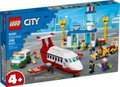 LEGO CITY 60261 CENTRAL AIRPORT.