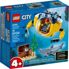 LEGO CITY 4+ 60263 OCEAN MINI SUBMARINE