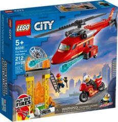 LEGO 60281 FIRE RESCUE HELICOPTER