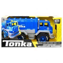 TONKA MIGHTY METAL FLEET GARBAGE TRUCK