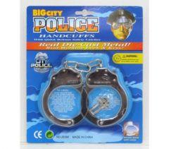 METAL POLICE TOY HAND CUFFS
