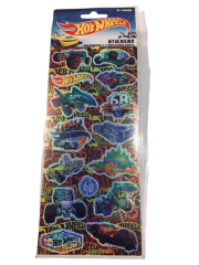 HOT WHEELS STICKERS 3 PACK
