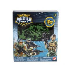 SOLDIER FORCE 50 PIECE PLAYSET