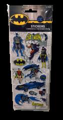BATMAN 3 PACK STICKERS
