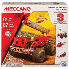 MECCANO 3 MODEL SET- FIRE ENGINE