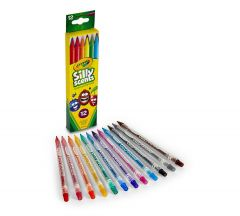 CRAYOLA 12 PACK SILLY SCENTS TWISTABLES COLORED PENCILS