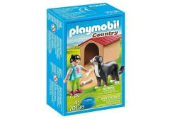 PLAYMOBIL COUNTRY DOG WITH DOG HOUSE