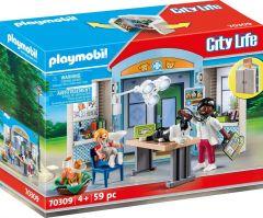 PLAYMOBIL CITY LIFE 70309 VET CLINIC PLAY BOX