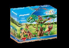 PLAYMOBIL FAMILY FUN 70345 ORANGUTANS WITH TREE