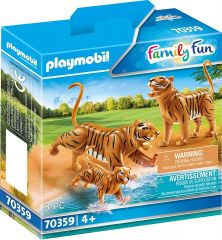PLAYMOBIL FAMILY FUN 70359 TIGERS WITH CUB