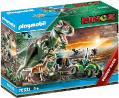 PLAYMOBIL DINOS EXPLORER QUAD WITH T-REX