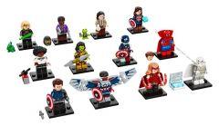 COMPLETE SET OF 12 LEGO 71031 MARVEL MINIFIGURES