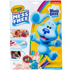 CRAYOLA COLOR WONDER MESS FREE BLUE'S CLUE'S