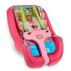 LITTLE TIKES 2 IN 1 SECURE SWING - PINK