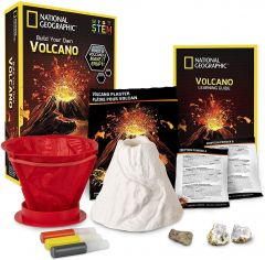 NATIONAL GEOGRAPHIC BUILD YOUR OWN VOLCANO STEM KIT