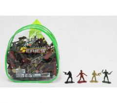 SMALL BACKPACK OF ARMY MEN