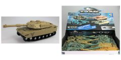 LIGHT AND SOUND FRICTION TANK 1:32 SCALE
