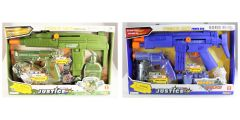 POWER GUN MILITARY FORCE SET & WORLD POLICE ASSORTED