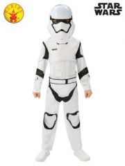 STAR WARS STORMTROOPER COSTUME SIZE 3 TO 5