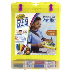 CRAYOLA COLOUR WONDER STOW AND GO STUDIO
