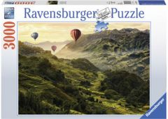 RAVENSBURGER 3000 PIECE JIGSAW PUZZLE RICE TERRACES IN ASIA