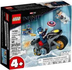 LEGO MARVEL 76189 CAPTAIN AMERICA & HYDRA FACE OFF
