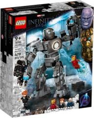 LEGO MARVEL 76190 IRON MAN: IRON MONGER MAYHEM