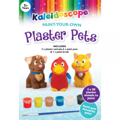 KALEIDOSCOPE PAINT YOUR OWN PLASTER PETS
