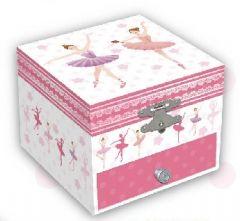 SMALL BALLERINA MUSICAL JEWELRY BOX