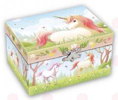 MUSICAL  JEWELLERY BOX UNICORN